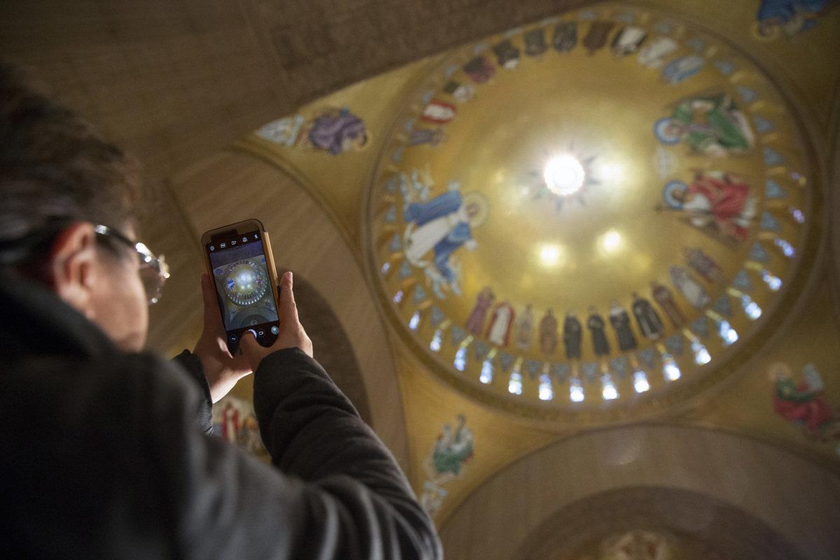 National Shrine honoring Mary draws pilgrims from around the world